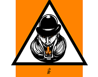 Clockwork Orange fan art