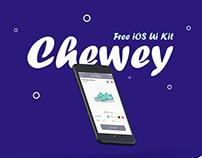 Chewey iOS UI Kit - Free Download