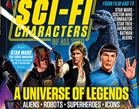 TotalFilm & SFX Bookazine: Layout Design, Art Direction