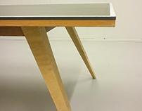 Table tennis desk