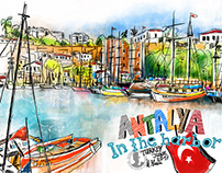 Antalya, In the harbor