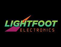 Lightfoot Electronics eBay store and listing design