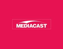 MEDIACAST // Branding & Logo Design