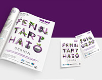 WAMP Design Fair poster and ads