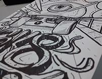 Doodle Sk8 Street - Wilmai