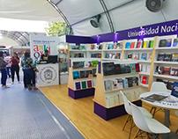 Diseño stand Fiesta del Libro | UNAL Medellín