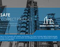 Nanda construction company