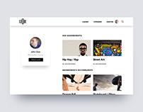 Clique.tv Personal Project