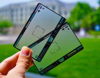 Transparent Photographer Business Card