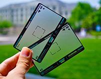 Transparent Photographer Business Card