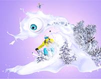 Ski photomanipulation