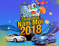 Poster Happy New Year Dichungtaxi 2018