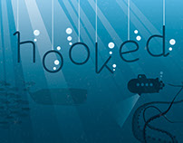 hooked | Free Font