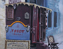 Fortune Teller Booth in Down Town Port Townsend