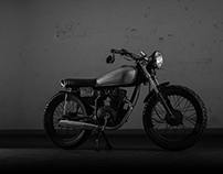 ISLO 125cc Cafe Racer Motorcycle | Photography
