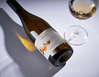 Orange Wine Label Design - Novak Orange