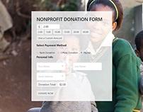 Donation Form - Nonprofit WordPress Theme