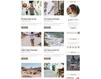Blog Site Design