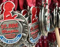 St. Jude Memphis Marathon Medal 2016