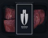 "Logo for ""Kitchen Mafia"". Catering."