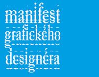 Manifest grafického designéra