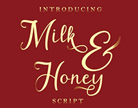 Free Font: Milk & Honey