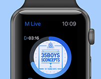 iWatch music demo