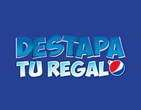 Destapa tu regalo - Pepsi.