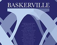 Baskerville Typography Poster
