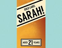 Sarah's Birthday Card