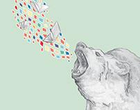 Bear it for Books illustration