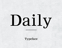 Daily - Typeface