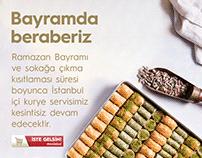 Karaköy Güllüoğlu Social Poster Design