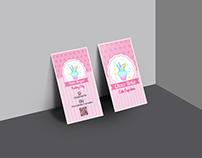 """ChocoBoka Cupcakes"" Business Card"