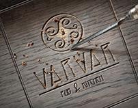 Фирменный стиль для паба Varvar