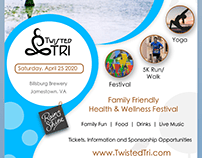 Flyer Design for Family Health Activity