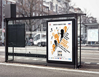 Affiche manifestation sportive
