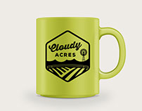 Cloudy Acres Tattoo Parlour Logo