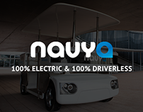 Navya - The Driverless Shuttle - Website Redesign