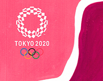 Poster - Olimpíadas 2020.