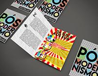 Flyer Pós-Modernismo