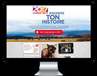 MICROSITE / RACONTE TON HISTOIRE / RADIO-CANADA