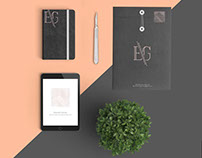 Dr. Eduardo Garrido Stationery Design