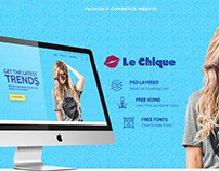Shop Website UI/UX