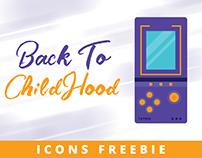 Back To Childhood - Icons FREEBIE