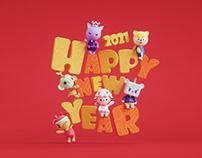 happy new year-2021