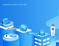 Illustration for Neuro Tech Lab