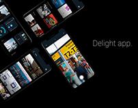 Delight app