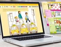 Plataforma web interactiva XML Edebé KIDS