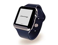Free Best Apple Watch Mockup Psd
